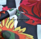 Tela de la impresión de la historieta de la mariposa para la ropa/la alineada