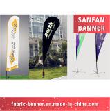 Indicateur promotionnel de publicité neuf garanti de clavette de larme de plage de 100%