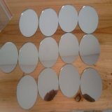 Personnalisé coupant la feuille en plastique de miroir de perspex de feuille acrylique de miroir de forme