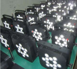 LEIDENE Sale/12PCS RGBW van de Fabriek van China het Directe Licht van het PARI/Verlichting RGBW
