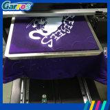 Imprimeur automatique de T-shirt de taille de Garros Digital A3 avec l'encre de textile