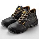 Zapatos de seguridad baratos del trabajo del precio básico para la industria pesada M-8138