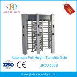 Cancello multicanale della barriera del cancello girevole pieno di altezza di controllo di accesso dell'acciaio inossidabile 304