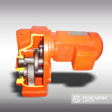 F Series Parallel Solid Shaft Helical Gearbox para Electric Motor