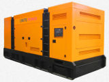 генератор 50Hz 563kVA/450kw Cummins супер молчком тепловозный