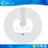Modifica rotonda ad alto rendimento dell'intarsio del circo NFC per i punti poco importanti