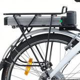 26インチのバイクの後部キャリアのリチウム電池山の電気自転車