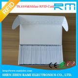 de Slimme Lege Witte Kaart van de Kaart 13.56MHz RFID voor Toegangsbeheer