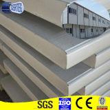 サンドイッチパネル、屋根はシート、lowesの壁のための安い壁羽目板PUサンドイッチパネル1枚あたりの価格を広げる
