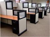 Neuer moderner Vierpersonenarbeitsplatz des Büro-Ao2 (OMNI-AO2-09)