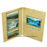 5inch LCD Video Card Gift Card Invitation Video Card Business Card с Customized Printing (ID5001)