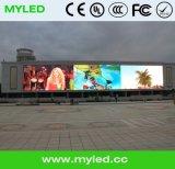 6 ans de garantie annonçant/Afficheur LED extérieur polychrome fixé au mur de P6 P8 P10