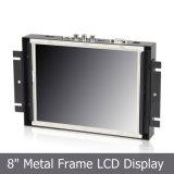 """8 """" monitores del marco abierto TFT con la pantalla táctil resistente 4-Wire"""
