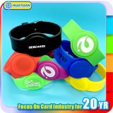 Kundenspezifisches Firmenzeichendrucken T5577 GYMNASTIK RFID Silikonwristband-Armband