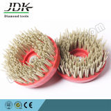 Diamond Round Abrasive Brush/Antique Brush for Stone Processing