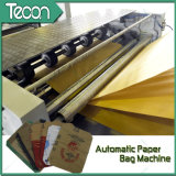 Kraft Paper Bag Making Machine con 4 Colors Printing in Line