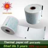 Roulis de papier thermosensible de papier thermosensible de pâte de bois pour l'atmosphère, position
