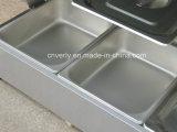 Matériel de cuisine de restaurant, Bain-Marie électrique de 7 bassins (VB-97)