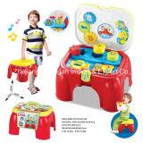 Игрушка игры табуретки установленная для серии мюзикл влюбленности младенца