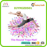 Digitals polychromes personnalisées estampées autour du couvre-tapis de yoga