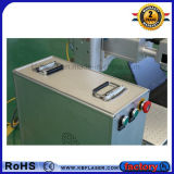 Machine portative bleue d'inscription de laser de la fibre 20W de Jpt pour le taraud en acier