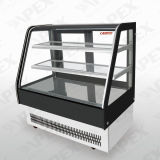 Handelskuchen-Bildschirmanzeige-Schaukasten mit Regal 2 3 Schicht-Bildschirmanzeige-Kuchen im Bäckerei-System