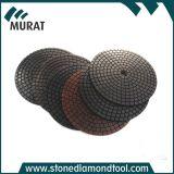 """3 """" /4 """" garniture de polonais de diamant avec le cuivre pour le meulage d'étage"""