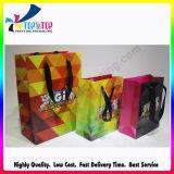 Мешок бумаги с покрытием оптовой продажи мешка промотирования цветастый бумажный напечатанный Cmyk