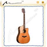 Chitarra semi acustica elettrica della chitarra