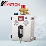 Teléfono de fuego Knzd-41 con el teléfono de la emergencia del sistema de intercomunicación de la función la alarma de incendio