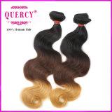 Capelli umani dell'onda brasiliana del corpo dei capelli dell'intrecciatura dei capelli di Ombre dell'essere umano dei 2016 nuovi prodotti 100%