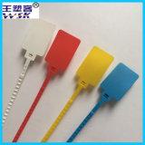 大きいラベルのサイズ赤くか白か青または黄色のプラスチックシール40cm (PP)