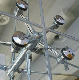Un ragno di vetro delle quattro braccia per la parete divisoria