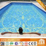 Het het blauwe Zwembad van de Kleur en Mozaïek van het Glas van de Badkamers (H420010)