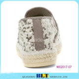 Hot Sale Shinny Casual Chaussures Espadrilles