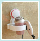Organizador da prateleira do suporte do secador do sopro do cabelo do Washroom com copo da sução