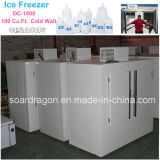 100cu. Congelador DC-1000 do cubo de gelo do FT para o uso ao ar livre