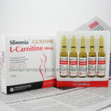 le corps 500mg amincissant le poids détruisent l'injection L injection de carnitine