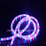 Цвет провода украшения 2 рождества изготовления изменяя свет веревочки СИД