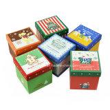 Cajas de papel clásicas de las cajas de regalo del papel de imprenta de la Navidad/de embalaje de Apple