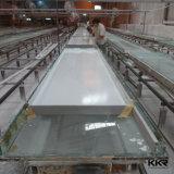 12mm nahtlose Verbindungs-strukturierter Marmorfester acrylsauerlageplan