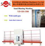 PLC는 자동적인 수직 유리제 모래 분사 기계를 통제한다