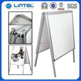 32mm Aluminum Snap Frame Schwer-Aufgabe Poster Board (LT-10-SR-32-A)