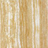 Nuevo azulejo de suelo esmaltado diseño de madera amarillo 600*600