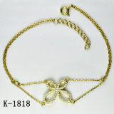 Monili di modo 925 braccialetti d'argento per le giovani signore