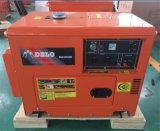 Type refroidi à l'air générateur diesel silencieux de Kama de 4 rappes