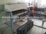 Chaîne de production continue de traitement thermique de fil d'acier