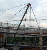Procedimiento del edificio alto de la estructura de acero