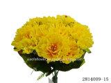 Peony artificial/plástico/de seda Bush (2814009-15) de la flor
