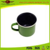 Green popolare Enamel Mug con Enamel Hand